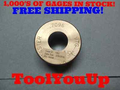 Master .7096 Smooth Plain Bore Ring Gage .7031 .0065 Oversize Machine Shop