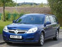 VAUXHALL VECTRA 1.8i VVT ( 140ps ) 2007 LIFE ESTATE,LONG MOT,EXCELLENT CONDITION
