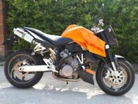 2006 (06) KTM 990 SUPERDUKE, Only 8400 Miles!!