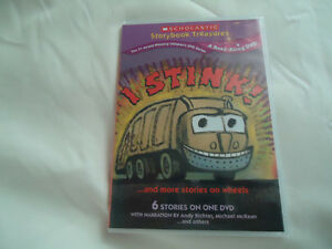 I Stink! 6 Stories on 1 DVD By Scholastics