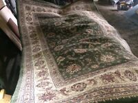 Large green rugs for sale