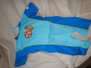 One Piece Babies Swim Suit with floatation pads