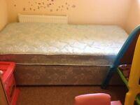 Single divan bed base only £30