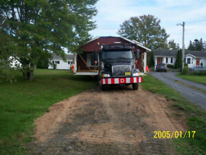 Moving Mobile Homes And Equiptment