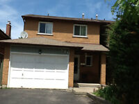 whole house for rent at Mississauga, August 1st available