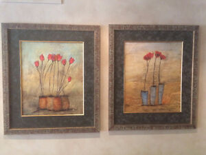 PRICE REDUCED! Assorted Framed Pictures for Sale