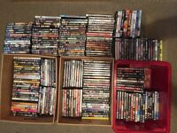 222 x various DVDs all in good condition.