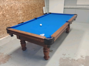 POOL TABLES ANY SERVICE TO ANY SIZE OR MAKE. NEW CUSTOM BUILT