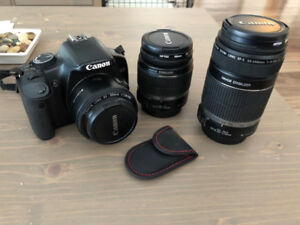 Canon Rebel XSI & Additional Lenses for Sale