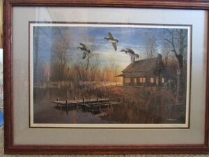 Signed, limited Edition Jim Hansel Framed print
