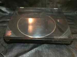 EXCELLENT SONY PS-LX520 LINEAR TRACKING FULL AUTOMATIC TURNTABLE