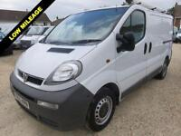 2006 55 VAUXHALL VIVARO 1.9 DI 2900 SWB EX BT ONLY 34508 MILES FROM NEW DIESEL