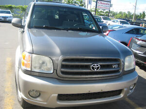 2003 Toyota Sequoia SR5 SUV, AS IS CALL 905 781 3785