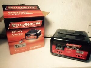 Motomaster battery charger