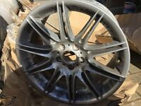 19inch alloy Bmw 330d M3 sport 57 plate