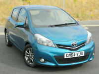 2014 (64) Toyota Yaris 1.4D-4D ( 90bhp ) Icon+ 5dr
