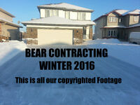 BEAR CONTRACTING SNOW REMOVAL