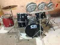 CB Drum Set with Lots of Extras! Used but Excellent Condition