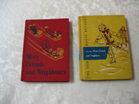 Vintage School Readers -- FROM PAST TIMES Antiques - 1178 Albert
