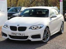 image for 2017 BMW 2 Series 218i M Sport 2dr [Nav] Step Auto Coupe Petrol Automatic