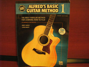Alfred's Basic Guitar Method - Book 1 [Includes Book]