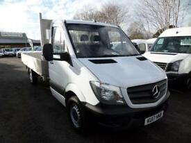 Mercedes-Benz Sprinter 314 CDI LWB 3.5T Euro 6 Dropside DIESEL MANUAL (2017)