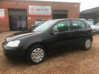 2007 Volkswagen Golf 1.4 S ( 80ps ) Black, 5dr Hatch, ONLY 50k **ANY PX WELCOME*