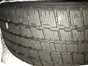 205/55R16 Cooper Winter Tires on rims (set of 4)
