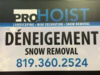 SNOW REMOVAL by PROHOIST