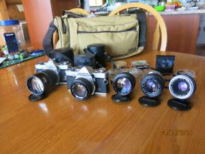 Olympus OM1 Cameras