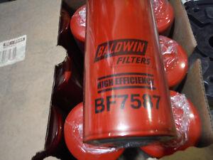 Baldwin BF 7857 Diesel fuel filter 12 lot Cat Peterbuilt Ford