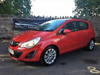 Vauxhall Corsa 1.7 CDTi ecoFLEX 16v SE 5dr Hatchback diesel in Red