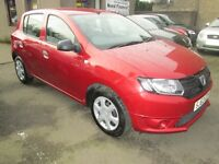 Dacia Sandero 1.2 16V 75 AMBIANCE - ONLY 36805 MILES - BUY NOW PAY IN 6 MONTHS - (red) 2013