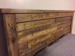 Custom Solid Wood Headboards, Footboards and Bed Frames