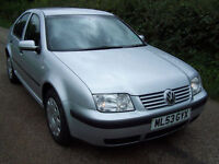 2003 53 Plate Volkswagen Bora 1.6 S In Silver , Nice Clean Condition ..