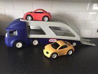 Little tikes car transporter
