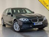 2016 BMW 520D SE AUTO SAT NAV PARKING SENSORS LEATHER INTERIOR SERVICE HISTORY