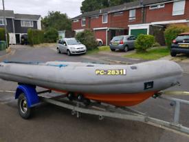 Avon searider sr4 rib boat