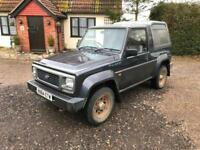 Daihatsu Fourtrak 2.8TD Fieldman TDL 1 years MOT