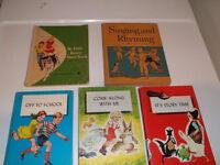Vintage  Elementary School Readers