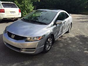 2009 Honda Civic EX-L (rare) tout équipé (Cuir, toit) RAPIDE
