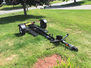 Almost New Stinger Folding Motorcycle Trailer