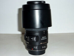 Canon EF70-300mm F4-5.6 IS USM lens for full frame/crop sensor.