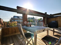 Condo Outremont penthouse garage terrasse