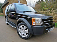 2005 LAND ROVER DISCOVERY 3 2.7 TDV6 ( 7 SEATS ) AUTO 4X4.