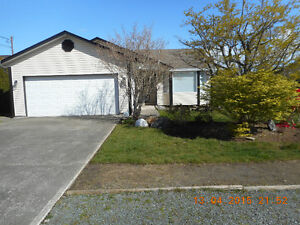 POSSIBLY FOR RENT OCTOBER 1--GRAYSON RD CAMPBELL RIVER $1600