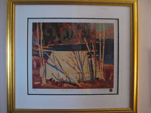 Tom Thomson Limited Edition Framed Prints MATCHING EDITION #