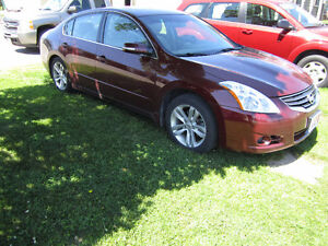 2012 Nissan Altima 3.5 SR Sedan