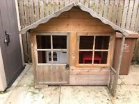 Wooden playhouse,ikea kitchen & accessories