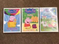 Peppa pig DVD 's